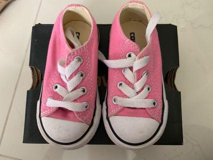 Converse Pink CHUCK TAYLOR ALL STAR infant Shoes