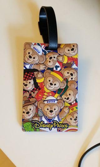 Disney Duffy 行李箱掛牌
