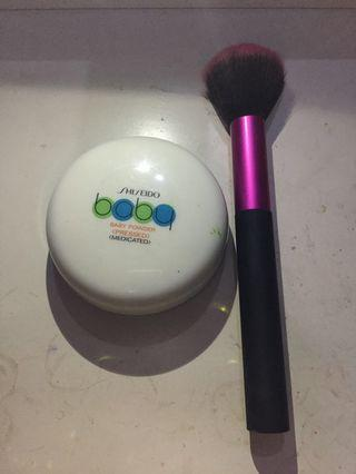 #BAPAU BABY POWDER DAN POWDER BRUSH