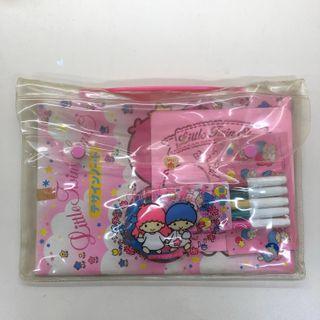 Sanrio 1994年 little twin star 中古文具套裝 絕版罕有 童年回憶
