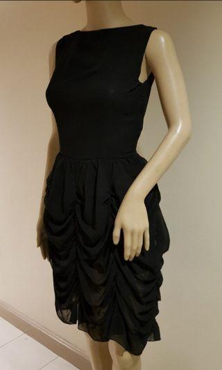 Chloe black evening dress