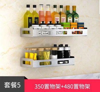 304 stainless steel kitchen hanging shelf