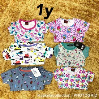 New cotton tshirt for boy girl