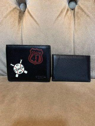 Coach F24655 3in1 WALLET WITH MOTIF MIXED PATCHES