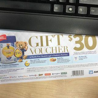 Abbott Similac $30 Voucher