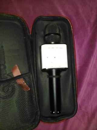 Mic geek .wireless & bluetooth speaker mic