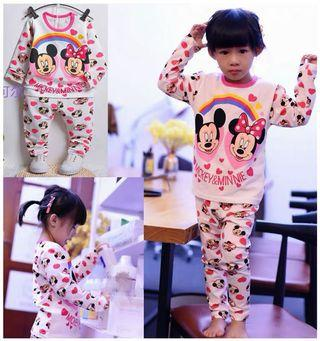 🚚 Minnie Mouse Pyjamas for age 8-9 yrs old