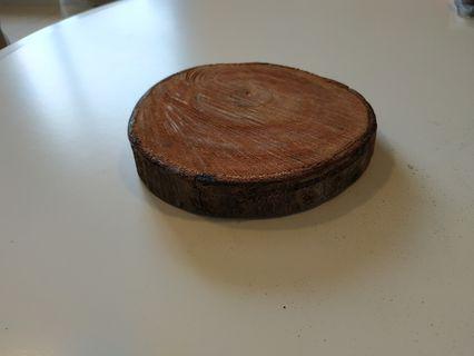Rustic Wood Slice - 6inch - per pc