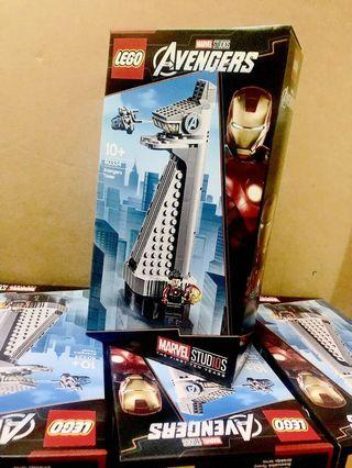 Lego 40334 avenger tower iron man limited edition