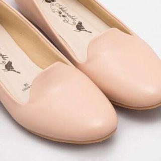Adorable Project Nude Pink Flat Shoes