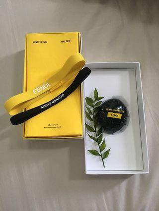 Authentic Fendi x Gentle Monster Paper Weight Stone Gift Box