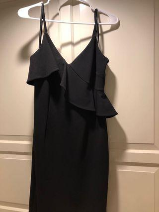 Calvin Klein Black dress SZ 8