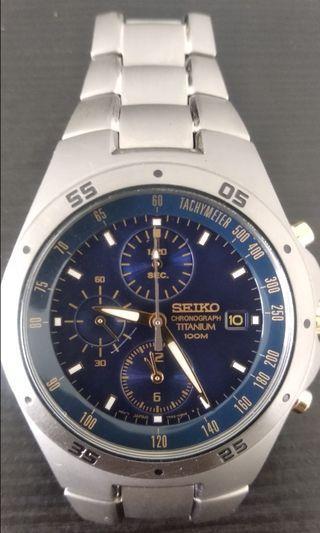 🚚 Seiko titanium chrono