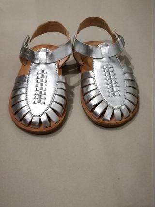 Zara Sandal Silver #GayaRaya