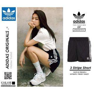 現貨快發🍬愛迪達Adidas 女款 休閒運動短褲 開叉設計