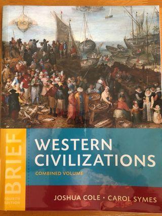 EU1101E Textbook - Western Civilisations 4th Ed (Brief)