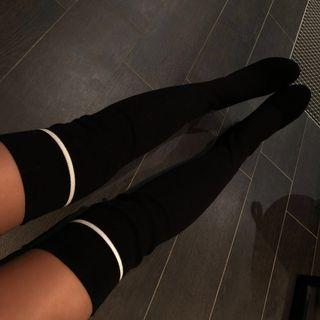 Knee High Sock Boots • size 37