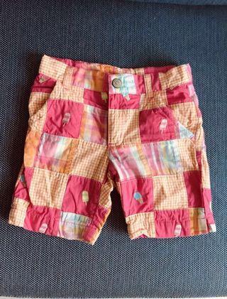 Gymboree girl checkered shorts 4T