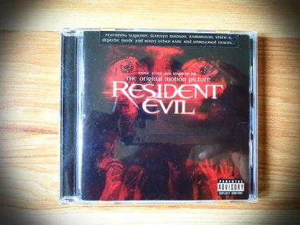 OST Resident Evil (2002) Soundtrack CD