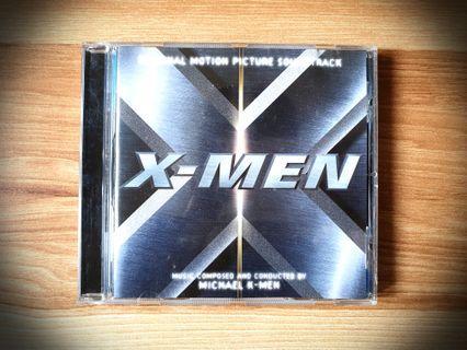 OST X-Men (2000) Soundtrack CD