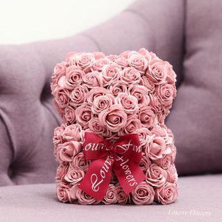 香皂玫瑰花小熊🐻