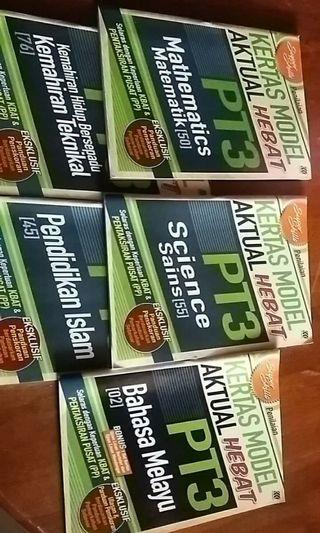 Buku rujukan dan latihan PT3