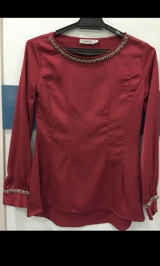 Zalia red top (s size)