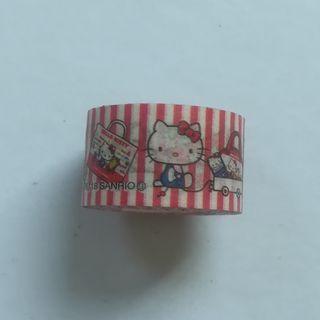 Sanrio - Hello Kitty - Mini Decoration Tape / Mini Masking Tape
