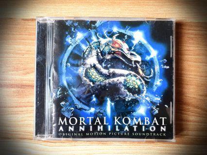 OST Mortal Kombat Annihilation (1997) Soundtrack CD