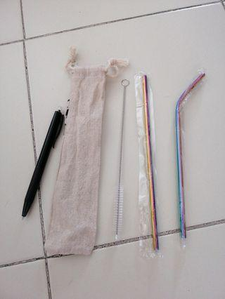 🚚 Metal straw