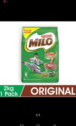 Milo 2kg new fresh date 2020