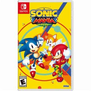 READY STOCK! Sonic Mania Plus Nintendo Switch