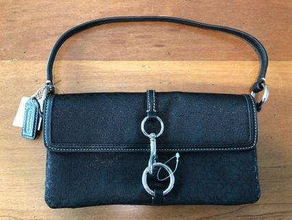 Original Coach Black Clutch / Handbag