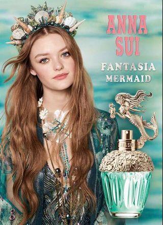 限時特價 Anna Sui as Mermaid EDT  美人魚淡香水