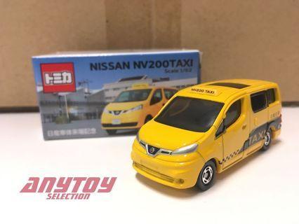 Tomica 特注 日產車體來場紀念 Nissan NV200 Taxi