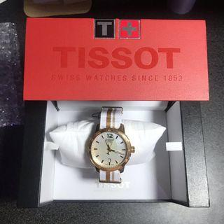 TISSOT 天梭 Quickster時捷系列玫瑰金
