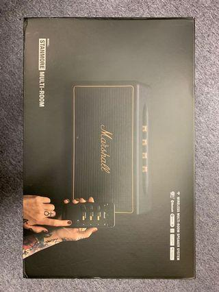 90% new Marshall stanmore wifi speaker (original price Hk$3499)