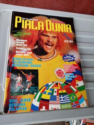World Cup souvenier mag.