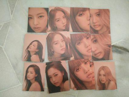 KILL THIS LOVE photocard puzzle