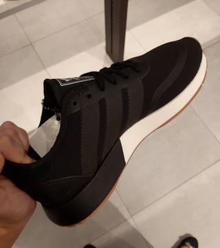 Adidas black sneakers