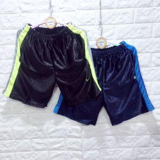 (E1507)夏男大童鬆緊腰撞色邊籃球褲 120-170