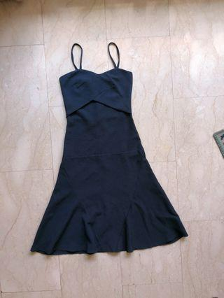 TEM Navy Blue Midi Dress