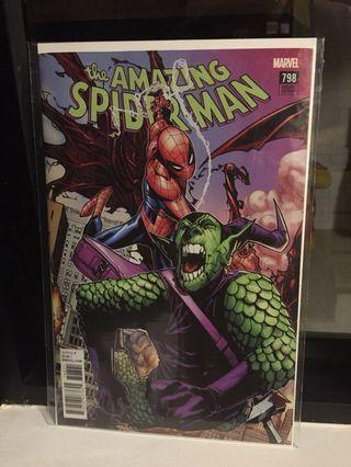 🚚 Amazing Spiderman 798 Ramos variant 1st Red Goblin