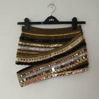 Dazzling Brown Skirt