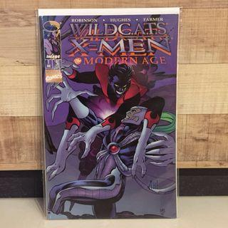 🚚 WildCATS x X-men Modern age 1 signed by Adam Hughes