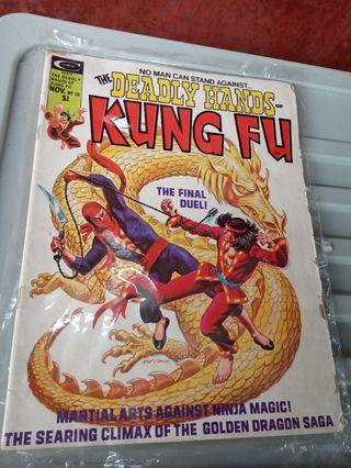 The Deadlly Hands of Kung Fu.