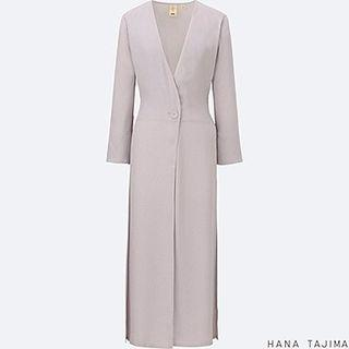 Hana tajima back tie light coat