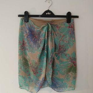 THIMBLE Green Skirt