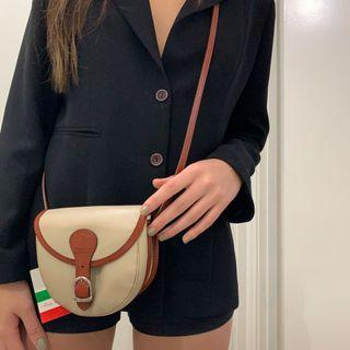 Vera pelle leather bag