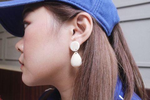 NEW! ANTING KOREA EARRINGS KEKINIAN HITS MARBLE
